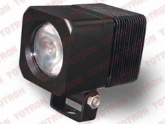 2inch 10W 9-32V Square 900 Lumen LED Work Light