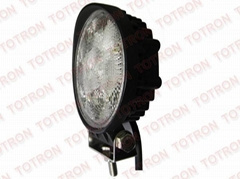 4inch 18W 9-32V Round LED Work Light