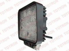 4inch 24W 9-32V Square LED Work Light