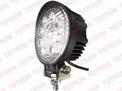 4inch 27W 9-32V Round LED Work Light