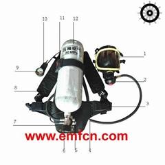 Fire Breathing Apparatus RHZK6.8/30 with EC MED (GL) Certificate