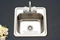 kitchen stainless steel sink basin