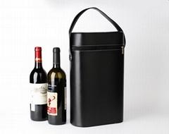 pu wine packing box