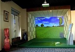 模擬高爾夫系統