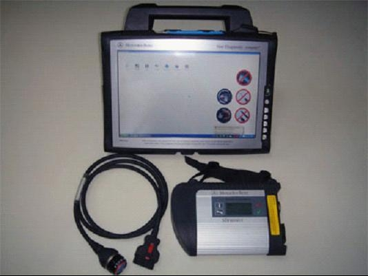 Mercedes mb star c4 sd connect auto diagnostic tool for for Mercedes benz computer diagnostic tool