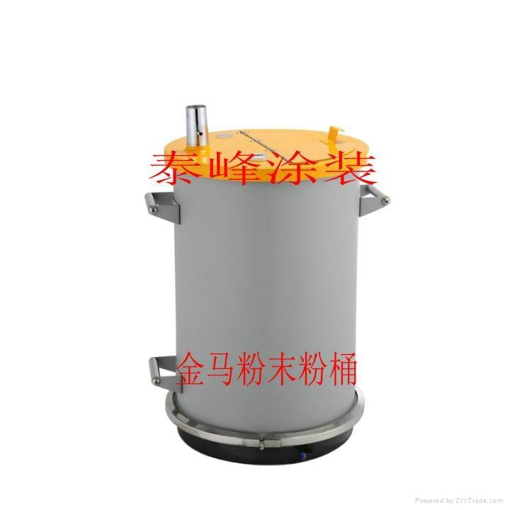 不鏽鋼流化粉桶 1