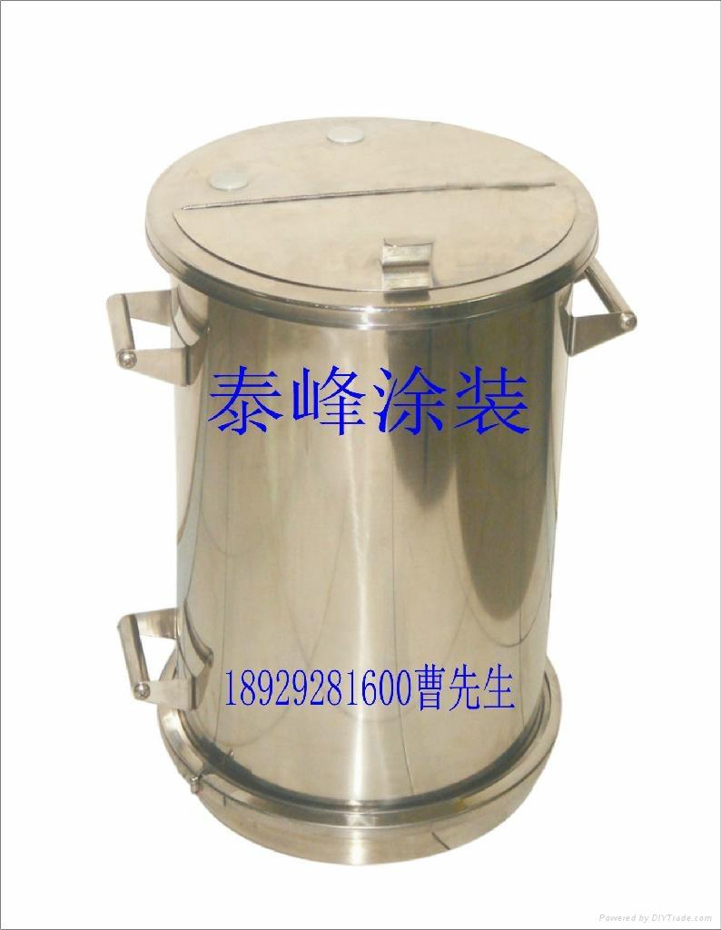 不鏽鋼流化粉桶 2