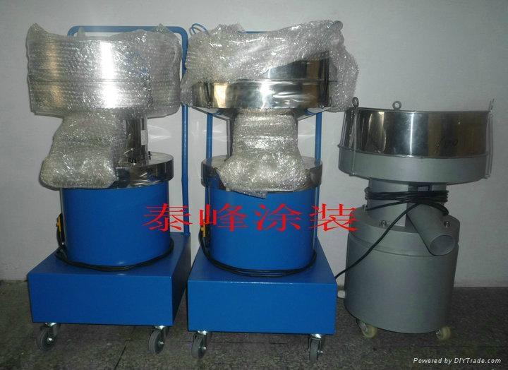 噴粉房專用粉末震動篩粉機 3