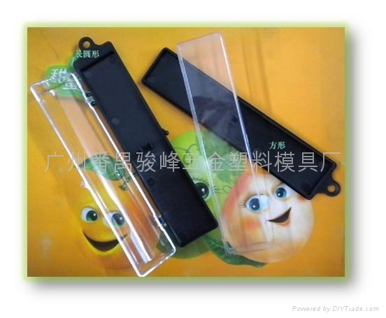 廠家供銷,圓形工藝透明塑料盒 3