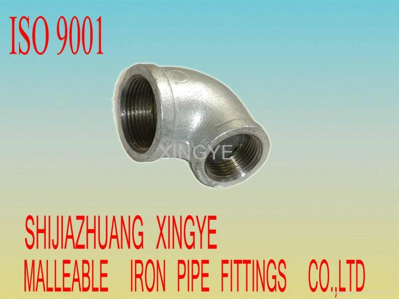 Malleable iron pipe fittings o china