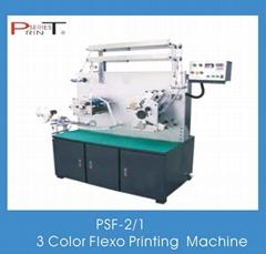 Flexo Printing Machine 3 Colors