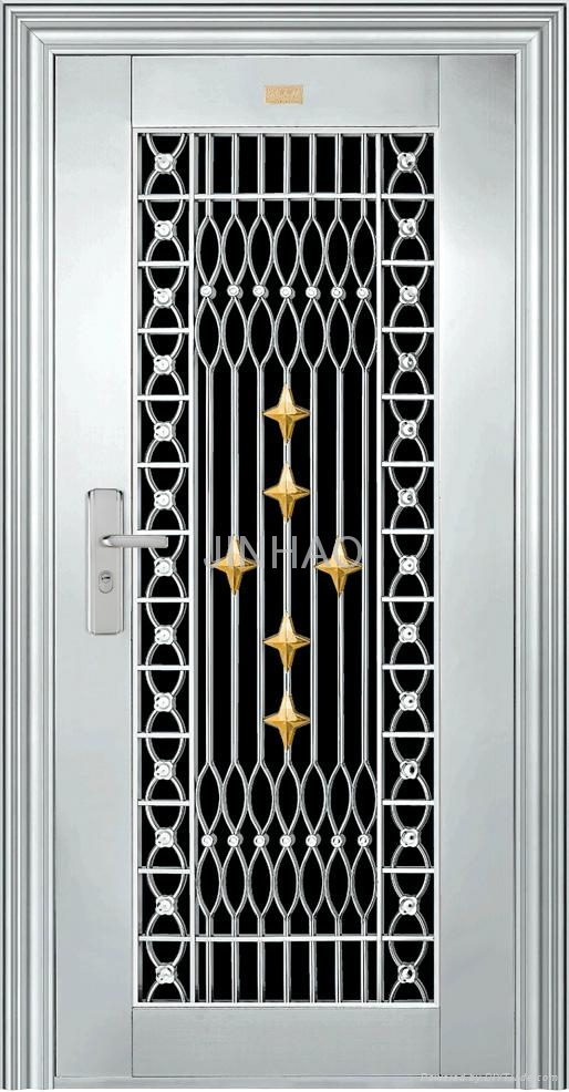 Stainless Steel Security Door Jh109 Jinhao China