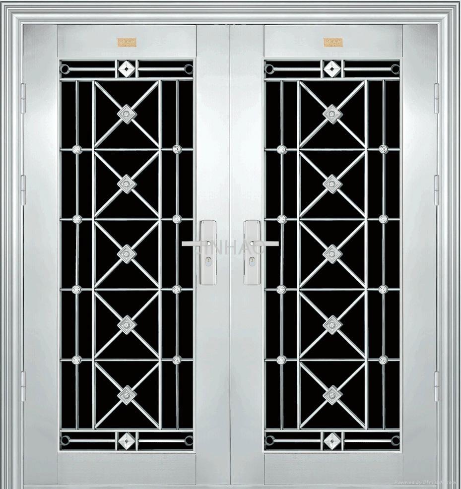 Steel Doors Product : Non standard stainless steel door jh jinhao