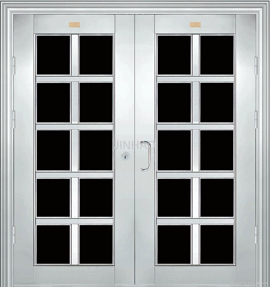 Non standard stainless steel door jh jinhao