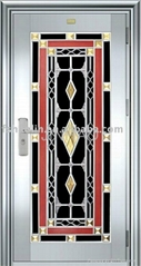 NEW!! stainless steel door