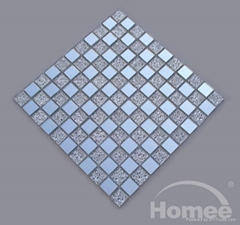 Offer Hotel Wall Tile-New Glass Mosaic Pattern