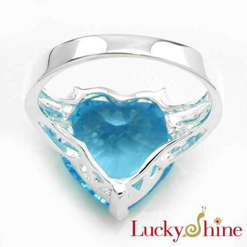天空蓝晶石戒指 2
