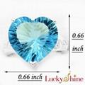 天空蓝晶石戒指 4