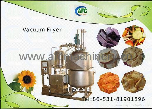 Vegetable and Fruit Chips Food Machine 1