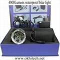 LED bike light set CREE 4000LM