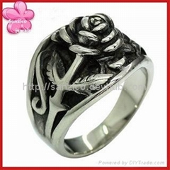 Sanzico #316 stainless steel ring/fashion ring/man's & lady's style ring/Antique