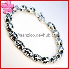 Sanzico #316 stainless steel bracelet/man's & lady's style bracelet/Antique
