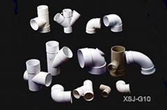 各种大小类型PVC塑料管件模具