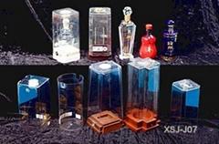 各種高檔精緻塑料PET酒包裝模具