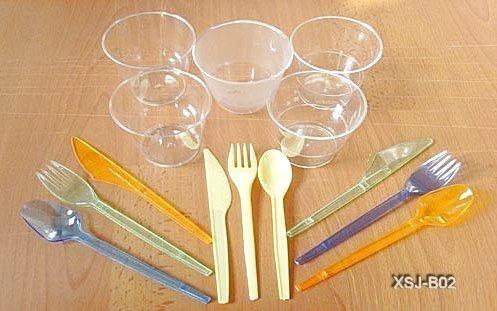 塑料刀叉勺盘模具 1