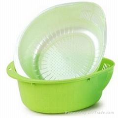 蔬菜水果滤水篮模具