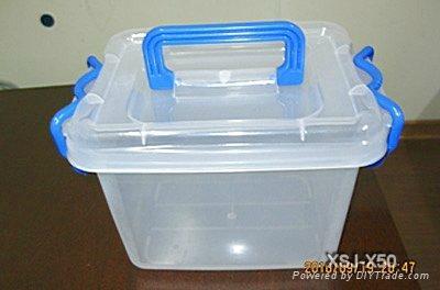 塑料整理箱模具 1
