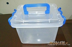 塑料整理箱模具