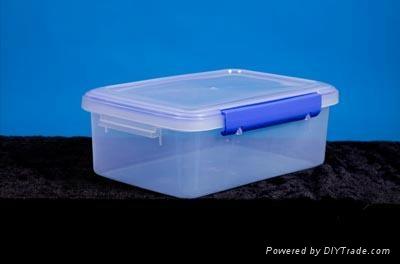 塑料整理箱模具 2