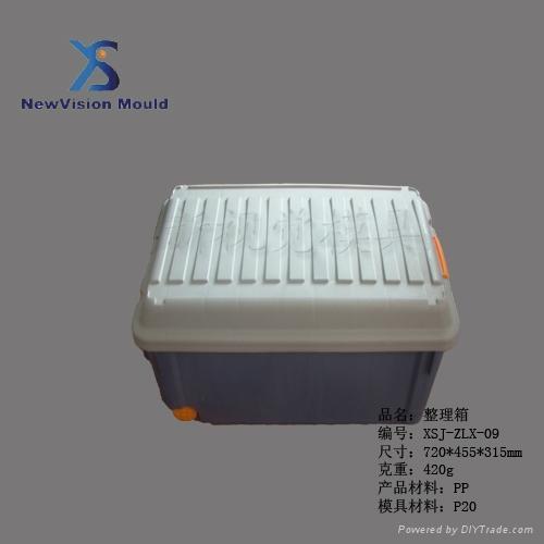 塑料整理箱模具 4