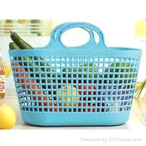 超市购物篮模具厂家制造 3