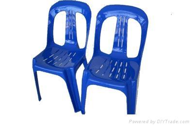 休闲实用塑料椅子凳子模具 2
