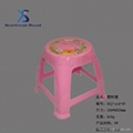 休闲实用塑料椅子凳子模具 3