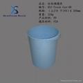 儿童可爱使用塑料垃圾桶模具 4