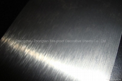 Metallic HPL laminate formica sheets