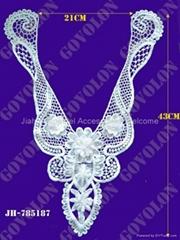 Cotton Lace Collar/Necklace