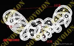 battenburg neckline lace