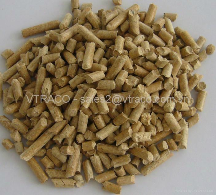 High calorific wood pellets from vietnam