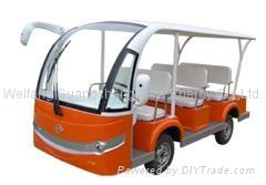 8 seats electric bus