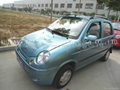 4 seat metal electric car