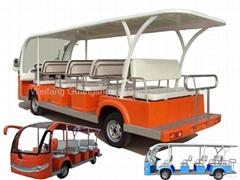 14 seats solar electric bus