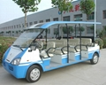 14 seats solar electric bus 3