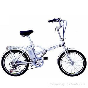 Lithium battery electric bicycle 1