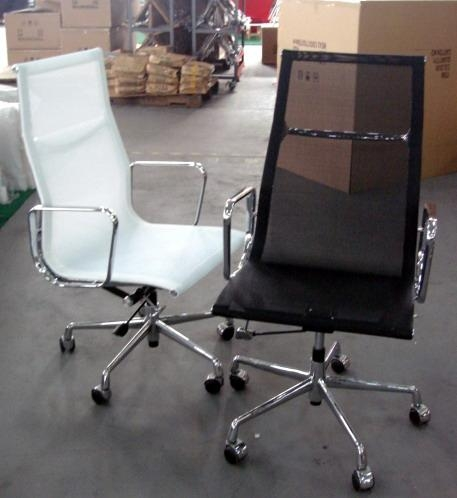 Retro Designed Aluminum Office Chairs China Living Room