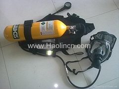 Self contained breathing apparatus(SCBA)