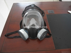 100% Silicone gas mask/ respriator with Single or double Filter(s)